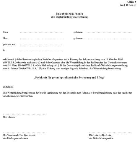Vorlage Antrag Verkürzung Ausbildung Weiterbildungs Und Pr 252 Fungsverordnung F 252 R Die Heranbildung Fachkr 228 Ften F 252 R Die
