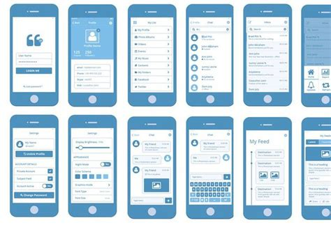 30 Free Web And Mobile Wireframe Templates Big Thing Minis And The O Jays Mobile Wireframe Template