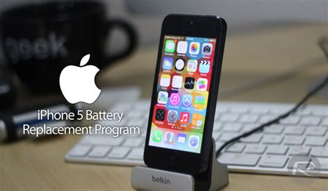 iphone battery replacement program apple replacing faulty iphone 5 batteries for free how to find out if you re eligible redmond pie