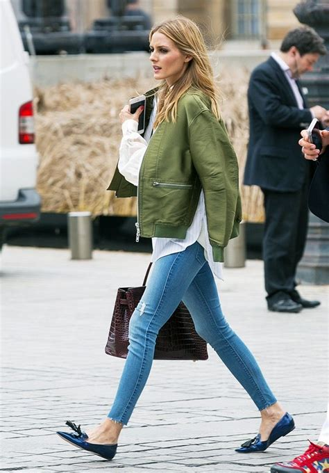 hairstyles for a casual day how olivia palermo styles flats for a casual day in paris