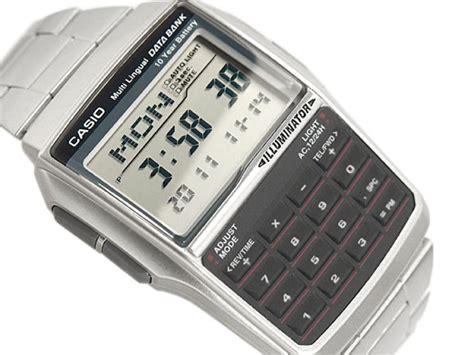 orologio casio calcolatrice orologio casio data bank calculator dbc 32d 1adf