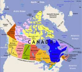 map of canada and its cities 3 4e canada