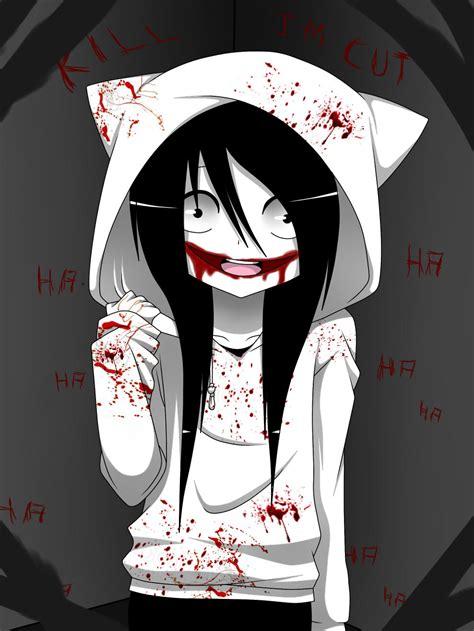 Anime Jeff The Killer by Jeff The Killer By Shikiblackbutler On Deviantart