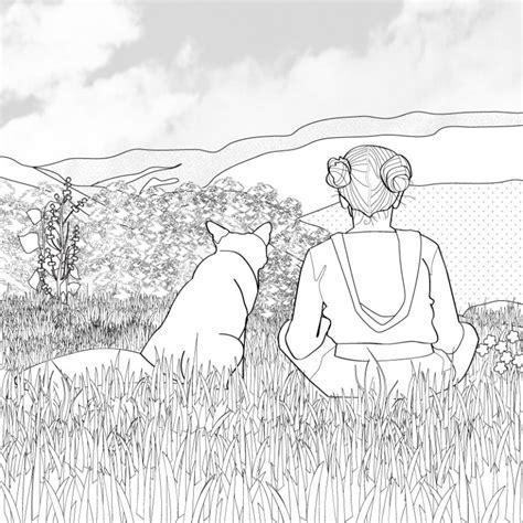 imagenes para dibujar de zorros dibujos para colorear zorro con la ni 241 a es hellokids com