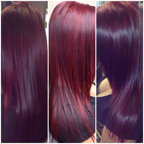 the color thesaurus community violets and hair coloring red violet hair using schwarzkopf color hair and makeup