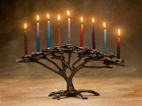 Candle Lighting Times For Hanukkah 2013 by 6 Unique Menorahs To Begin Hanukkah