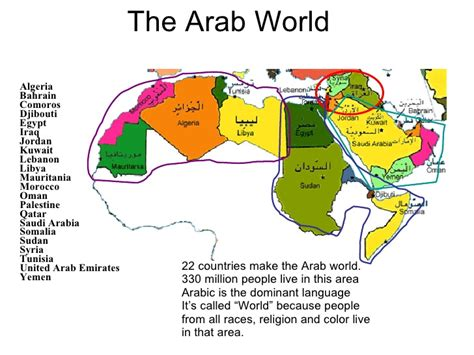 map of the world in arabic religion in the arab world