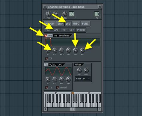 Volume Envelope Pattern Fl Studio | how to make a dubstep beat