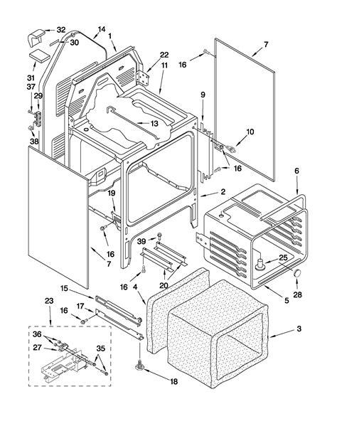whirlpool electric range wiring diagram get free image