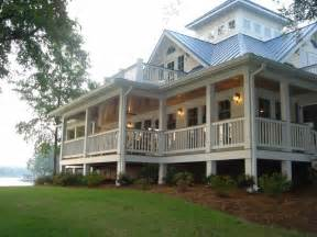 Cottage Style Porch For Ranch Homes by Wrap Around Adobe Homes Old Colonial Homes Colonial Homes