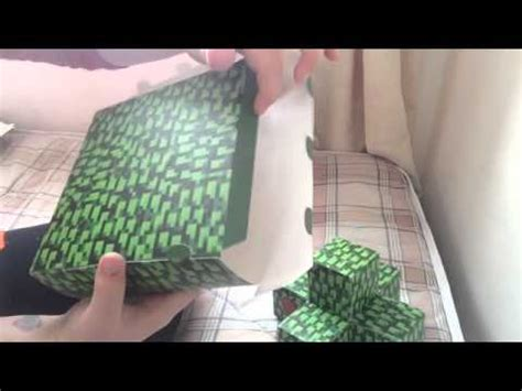 Papercraft Tree - papercraft minecraft tree tutorial