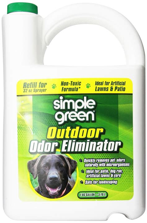 simple green outdoor odor eliminator  pets dogs ideal