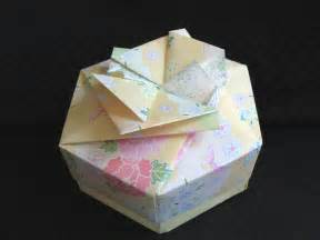 Origami Hexagonal Box - hexagon origami box gbgifts