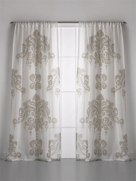 gauze fabric curtains couture dreams enchantique linen gauze window curtain