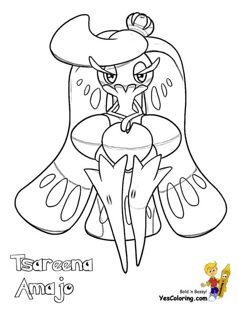 pokemon coloring pages yescoloring com rowdy pokemon moon coloring free pokemon coloring