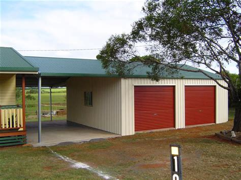 Lean To Barns Residential Sheds Amp Garages Wa Qld Nt Aussie Sheds