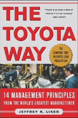 toyota way book lean book review the toyota way