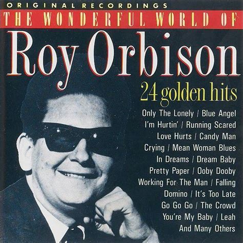 Album Roy the wonderful world of roy orbison 24 golden hits roy