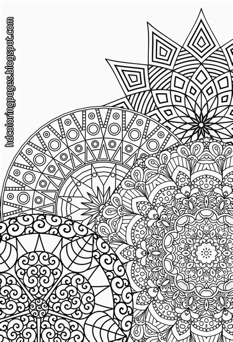 coloring pages adults mandala super detailed mandalas coloring pages for adult