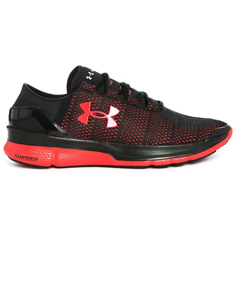 black armour shoes armour black speedform conquer 2 running shoes in