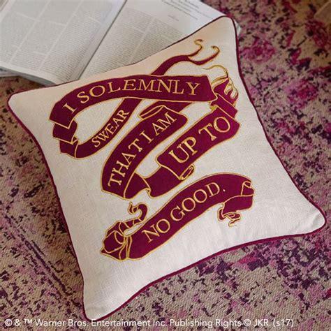 Harry Potter Home Decor Harry Potter Marauder S Map Pillow Cover Pbteen
