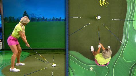 golf swing drills improve your swing plane with staggered stance drill