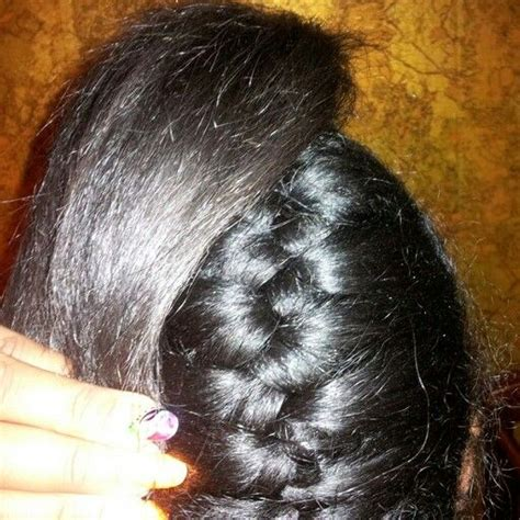 underhand braid styles how to underhand braid with weave hairstylegalleries com