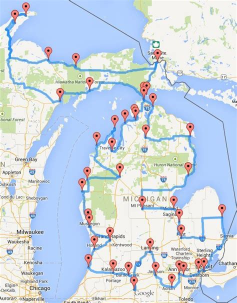 Best Mba In West Michigan by Michigan Road Trip Hits 43 Of The State S Best