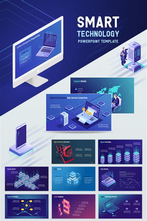 Smart Technology Powerpoint Template 71903 Technology Templates