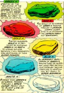 kryptonite colors kryptonite is everywhere tv tropes