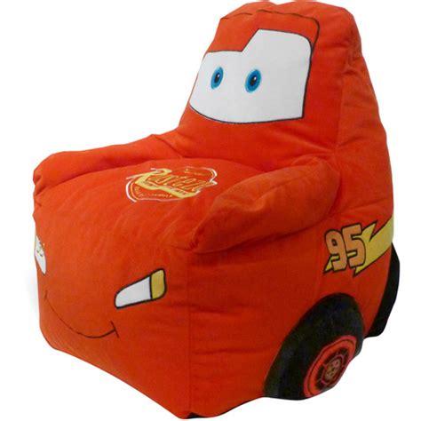 disney cars figural bean bag chair walmart