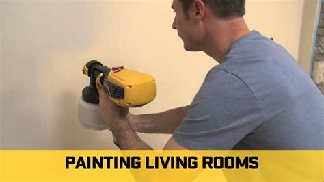 Spray Paint Your Interior Walls