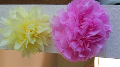 Make Flower From Tissue Paper - 3 ways to make tissue paper flowers wikihow