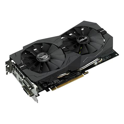 Vga Radeon Asus 470 Strix 4gb 0c Gaming asus rog strix radeon rx 470 gaming oc 4gb gddr5