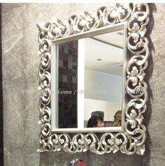 Jual Cermin Hias Besar cermin hiasan dinding cermin hias ruang tamu ukir cermin dinding