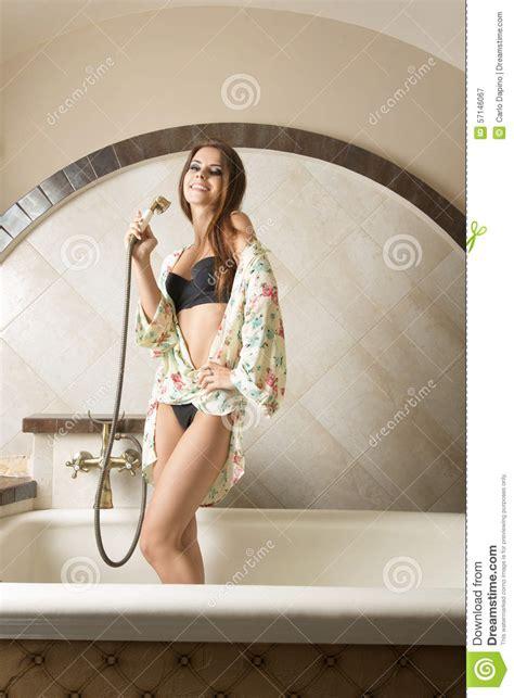 sexy bathtub sexy girl in bath tub stock photo image 57146067