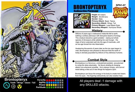 magic set editor card fighters clash template image brontopteryx jpg kaijucombat wiki fandom