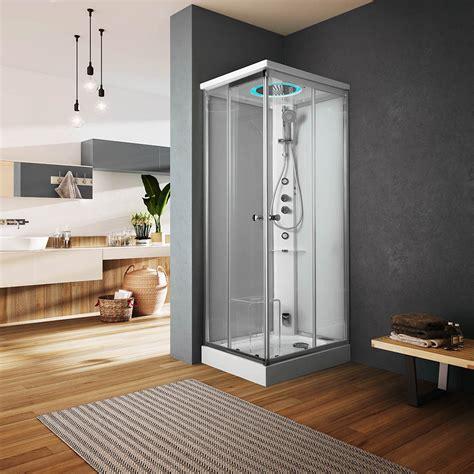 glass docce archimede box doccia multifunzione docce multifunzione
