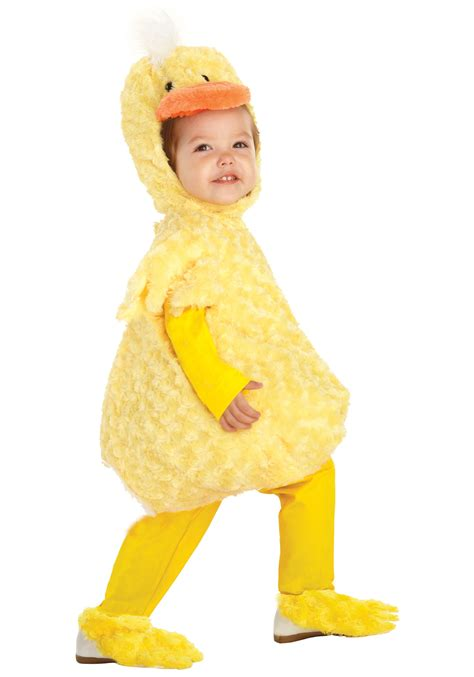 baby costume toddler yellow duck costume