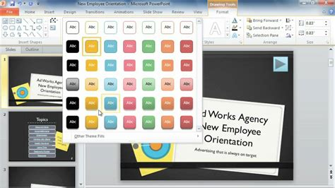 wordpress tutorial powerpoint powerpoint 2010 action buttons