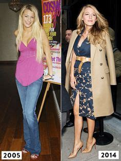 Blake lively s style evolution from 2005 to 2014 from platinum hair