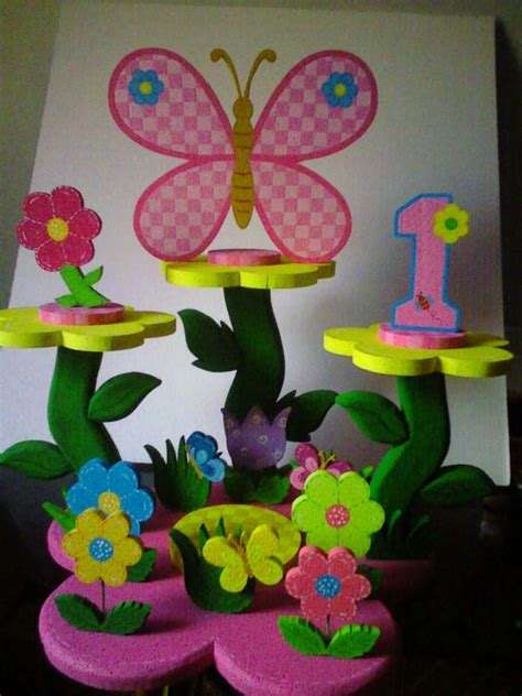 chupetera para quot flores y mariposas quot mis trabajos elaine fiestas