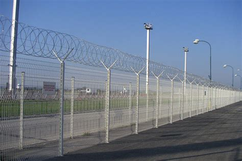 fence high security fence types security fences and gates