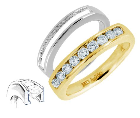 Set Channel channel set engagement rings a stunning choice