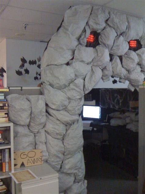 halloween department themes caves cubicles and skulls on pinterest