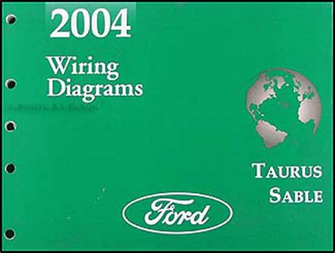 2004 ford taurus mercury wiring diagrams manual