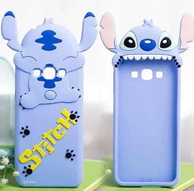 Silicon 3d Moschino Samsung J3 silicon 3d stitch back cases for samsung galaxy j7
