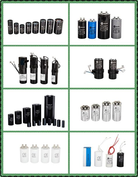 types of capacitors hvac 250 500vac polyester capacitor ac motor capacitors from ningguo city electronics co
