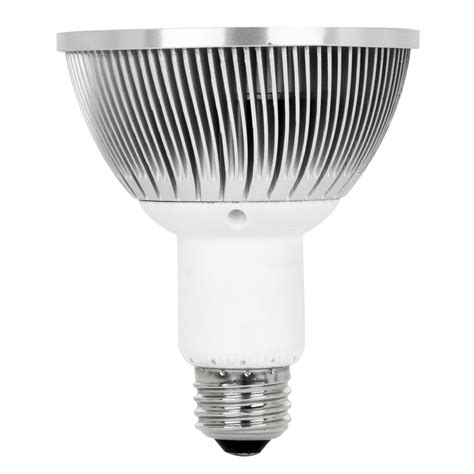 Shop Utilitech 75w Equivalent Dimmable Warm White Par38 Par38 Led Flood Light Bulbs