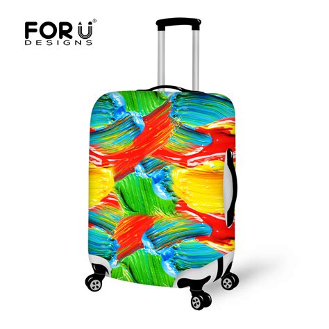 aliexpress buy rainbow colorful luggage protective